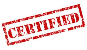 IAB-certificering
